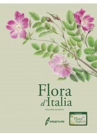 Flora d'Italia volume 4 di Guarino, La Rosa, Pignatti