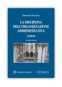 La Disciplina Dell'Organizzazione Amministrativa di Taccogna