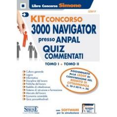 Concorso per 3000 NAVIGATOR presso Anpal Kit Quiz Commentati