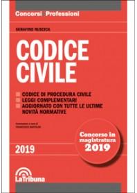 Codice Civile Concorso Magistratura 2019 di Ruscica