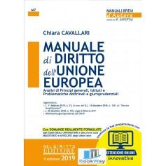 manuale di diritto dell'unione europea 2019