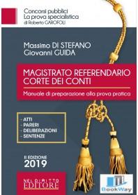 magistrato referendario corte dei conti