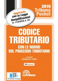codice tributario 2019 - pocket