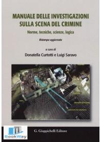 manuale delle investigazioni sulla scena del crimine