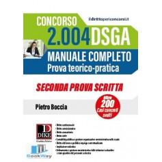 concorso 2004 dsga - manuale completo seconda prova scritta