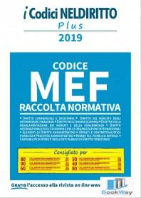 codice mef raccolta normativa 2019