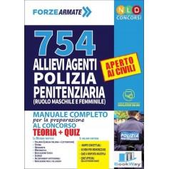 754 allievi agenti polizia penitenziaria (ruolo maschile e femminile)