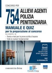754 allievi agenti polizia penitenziaria