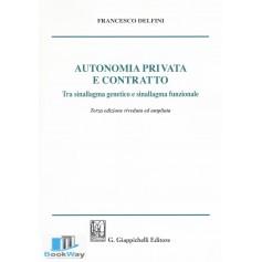 autonomia privata e contratto