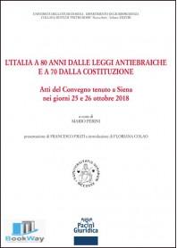 l'italia a 80 anni dalle leggi antiebraiche e a 70 dalla costituzione