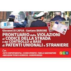 prontuario delle violazioni al codice della strada e del controllo di base di patenti unionali e straniere