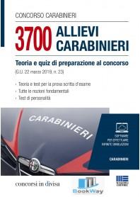 3700 allievi carabinieri