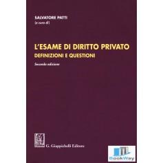 l'esame di diritto privato