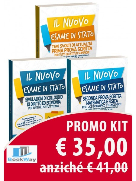 kit prova scritta liceo scientifico - maturita' 2019