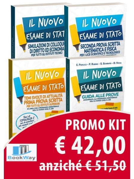 kit liceo scientifico - maturita' 2019