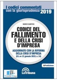 codice del fallimento e della crisi d'impresa 2019