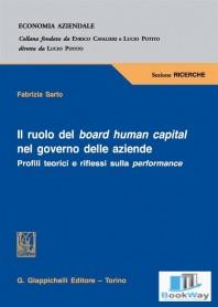 il ruolo del board human capital nel governo delle aziende