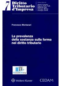 prevalenza della sostanza sulla forma  nel diritto tributario (la)
