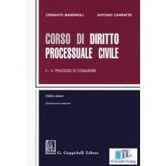 corso di diritto processuale civile ii
