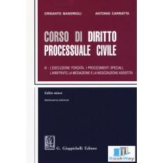 corso di diritto processuale civile iii