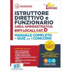 istruttore direttivo e funzionario area amministrativa enti locali cat.d