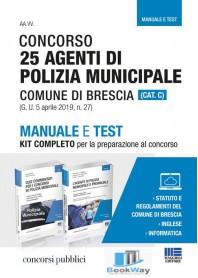 concorso 25 agenti di polizia municipale comune di brescia (cat.c)