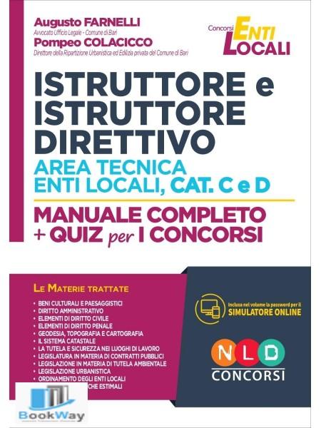 istruttore e istruttore direttivo area tecnica enti locali cat. c e d