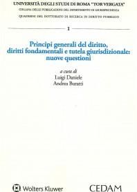 principi generali del diritto, diritti fondamentali e tutela giurisdizionale: nuove questioni