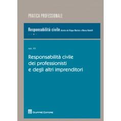 Responsabilita' Civile dei Professionisti e degli altri Imprenditori di Martini, Rodolfi