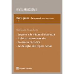 La Pena e le Misure di Sicurezza Il Diritto Penale Minorile La Riserva di Codice Le Deroghe alle Regole Penali di Caraccioli
