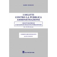 I Delitti Contro la Pubblica Amministrazione di Romano