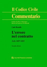 L'Errore nel Contratto di Carlo Rossello