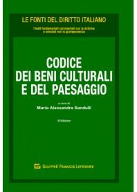 Codice dei Beni Culturali e del Paesaggio di Sandulli