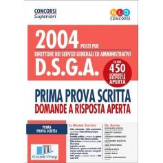 2004 posti per direttore dei servizi generali ed amministrativi d.s.g.a.