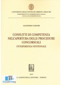 conflitti di competenza nell'apertura delle procedure concorsuali