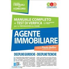 manuale completo + test di verifica per la preparazione all'esame agente immobiliare