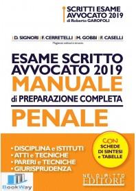 esame scritto avvocato 2019 - manuale di preparazione completa penale