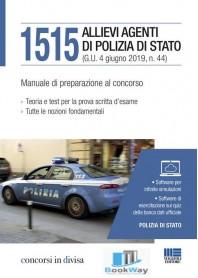 1515 allievi agenti di polizia di stato