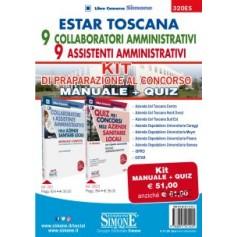 Estar Toscana 9 Collaboratori Amministrativi 9 Assistenti Amministrativi Kit