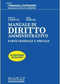 Offerte Manuale di Diritto Amministrativo 2019/2020 di Garofoli, Ferrari