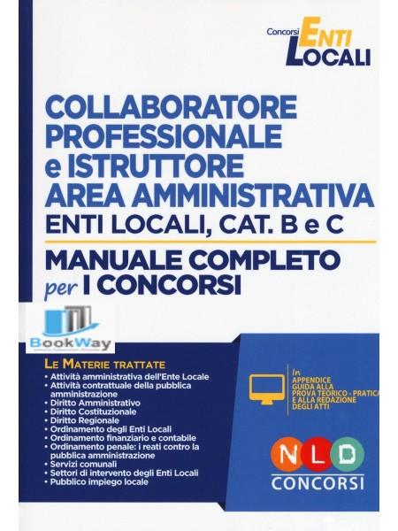 collaboratore professionale e istruttore area amministrativa enti locali, cat. b e c