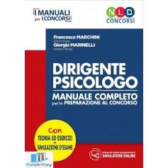 dirigente psicologo - manuale completo per la preparazione al concorso