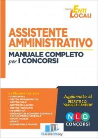 assistente amministrativo - manuale completo per i concorsi