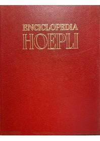 ENCICLOPEDIA HOEPLI 14 VOLUMI RILEGATI