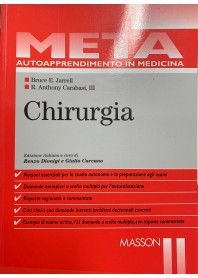META AUTOAPPRENDIMENTO IN MEDICINA - CHIRURGIA di JARRELL e CARABASI