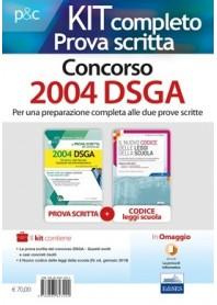 Concorso 2004 DSGA Dirigenti Scolastici Prova Scritta Kit