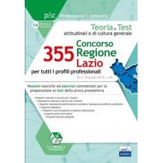 Concorso Regione Lazio per 355 Posti Cultura Generale e Test Psicoattitudinali