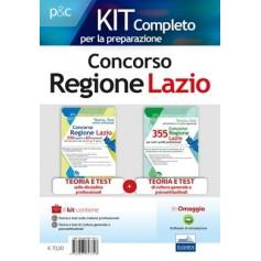 Concorso Regione Lazio Materie Professionali, Cultura Generale e Test Psicoattitudinali Kit