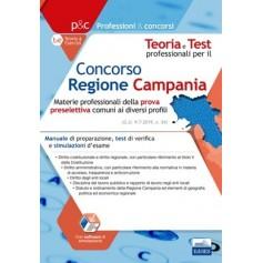 Concorso Regione Campania Materie Professionali della Prova Preselettiva