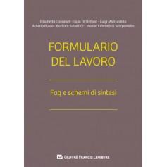 Formulario del Lavoro di Cassaneti, Donnarumma, Gobatti, Levi, Lipparini, Di Scorpaniello, Matrundola, Russo, Sabellico, Bianchi